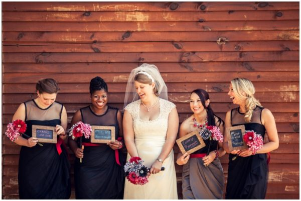 black white red wedding_0019