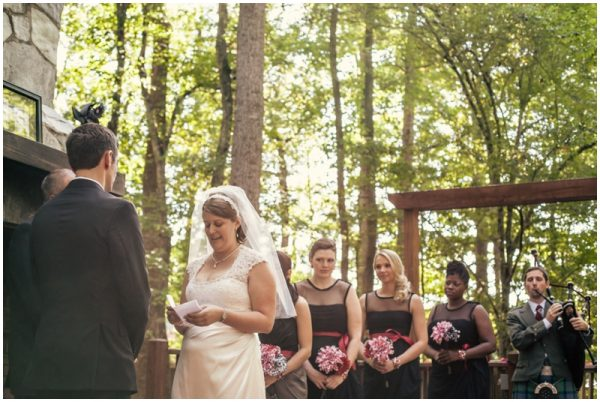 black white red wedding_0023