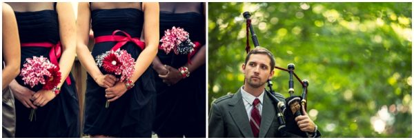 black white red wedding_0024
