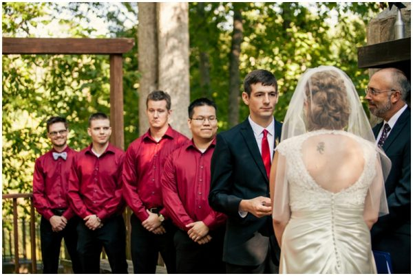 black white red wedding_0030