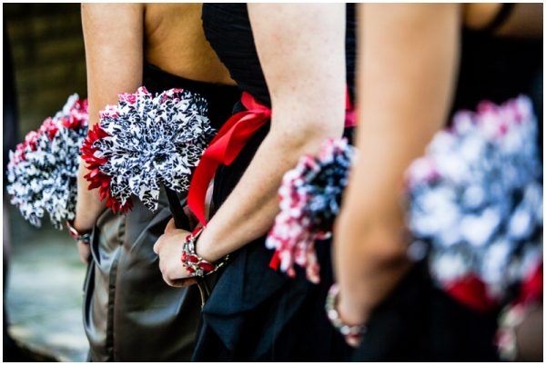 black white red wedding_0032