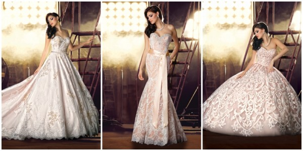 Impression Bridal 0001 Pink Wedding Gowns