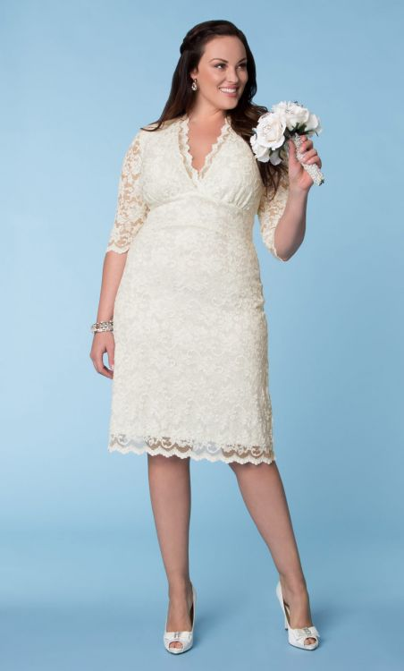 Wedding Dresses for Curvy Brides from Kiyonna.com | The Budget Savvy ...