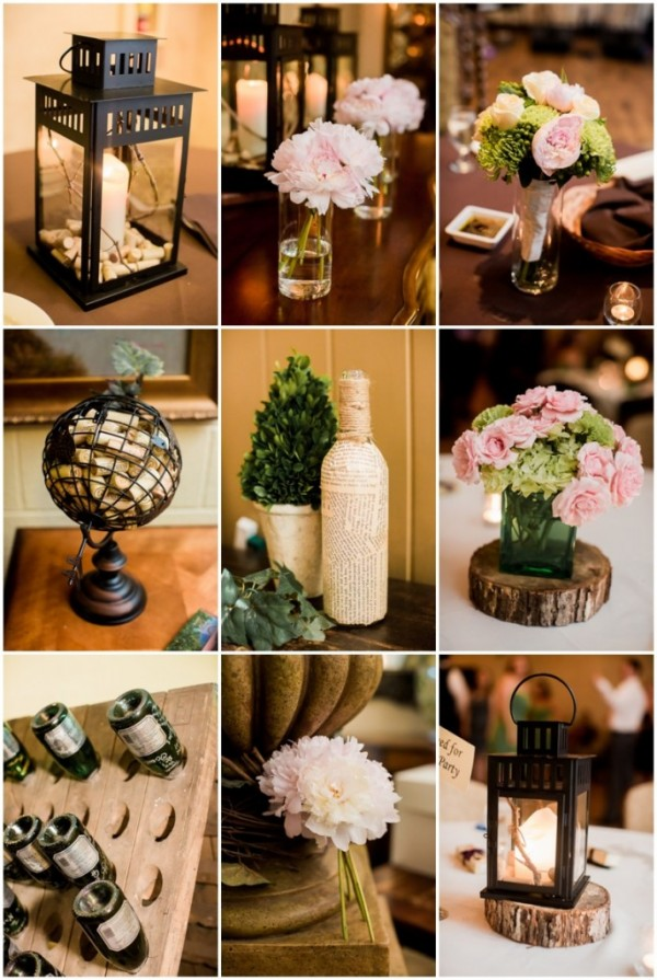 vineyard wedding wine corks