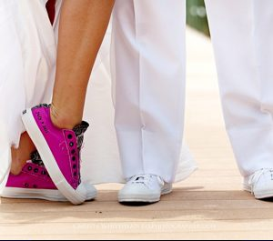 wedding tennis shoes