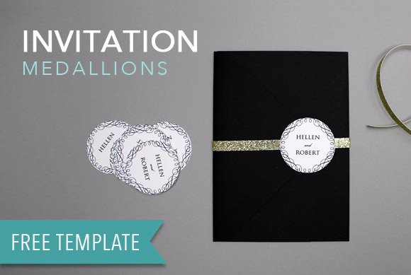 00 feature image DIY Printable Wedding Medallions