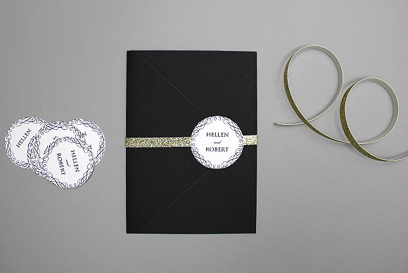 diy wedding medallions