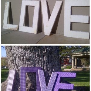 Love before after