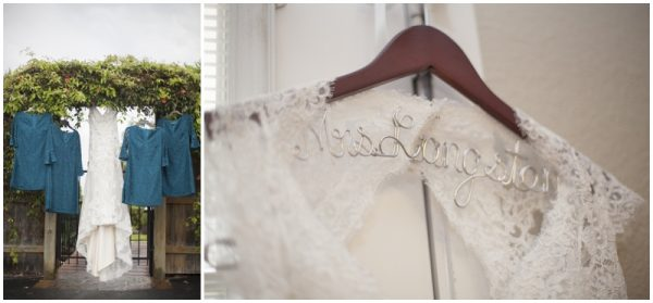 custom name wedding dress hanger