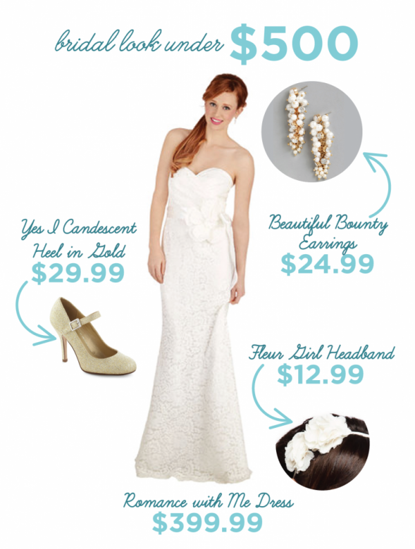 budget friendly bridal looks from modcloth-02