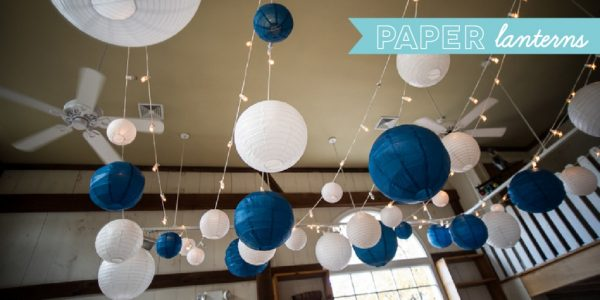 wedding decor and accessories - paper lanterns