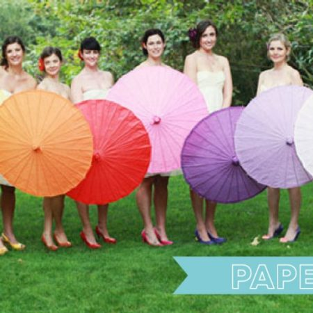 luna bazaar- paper parasols