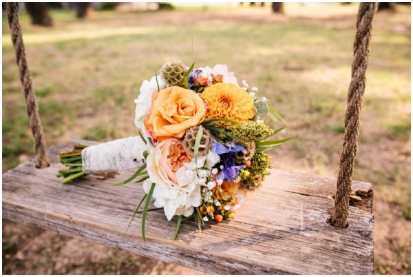 country wedding bouquet