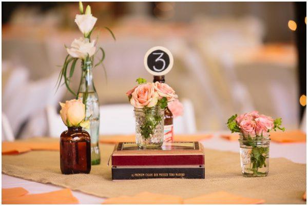 country wedding centerpieces