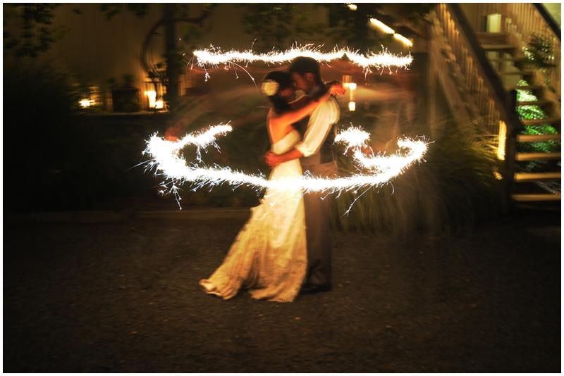 weddnig sparklers