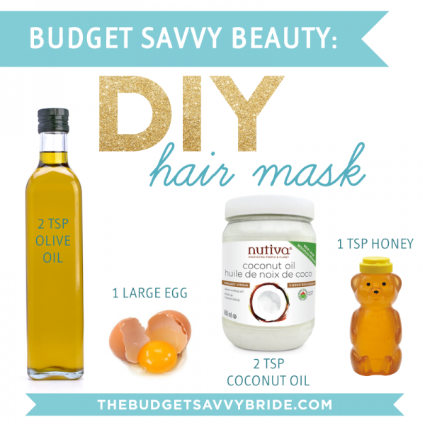 Diy hair mask the budget savvy bride - How to make shampoo at home naturally easy recipes ...