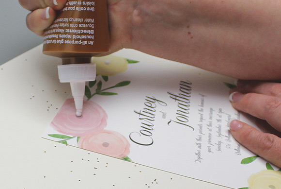 garden-bouquet-printable-wedding-invitation-template-step5-glue-drops