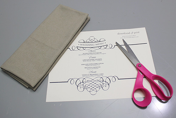 download-and-print-napkin-ring-menu-things-you-need