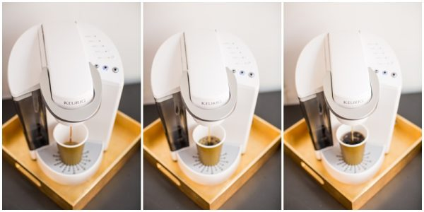 diy coffee station display