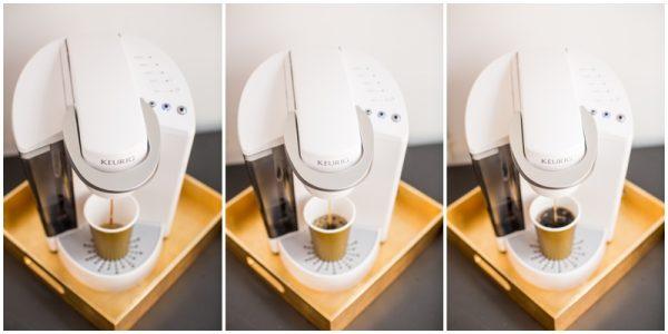 diy coffee station display
