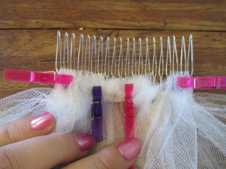 wedding veil comb