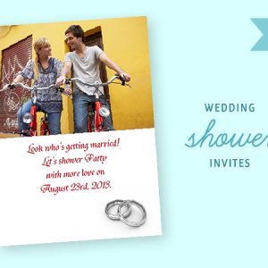 kodak wedding shower invite