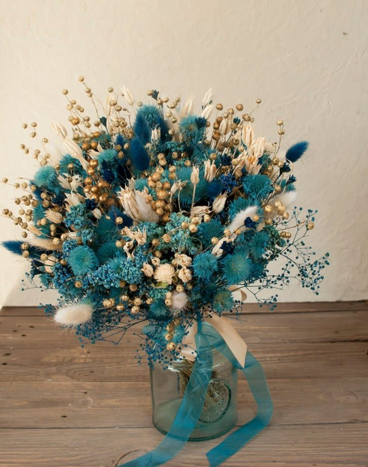 dried flowers by olga - dried wedding flowers