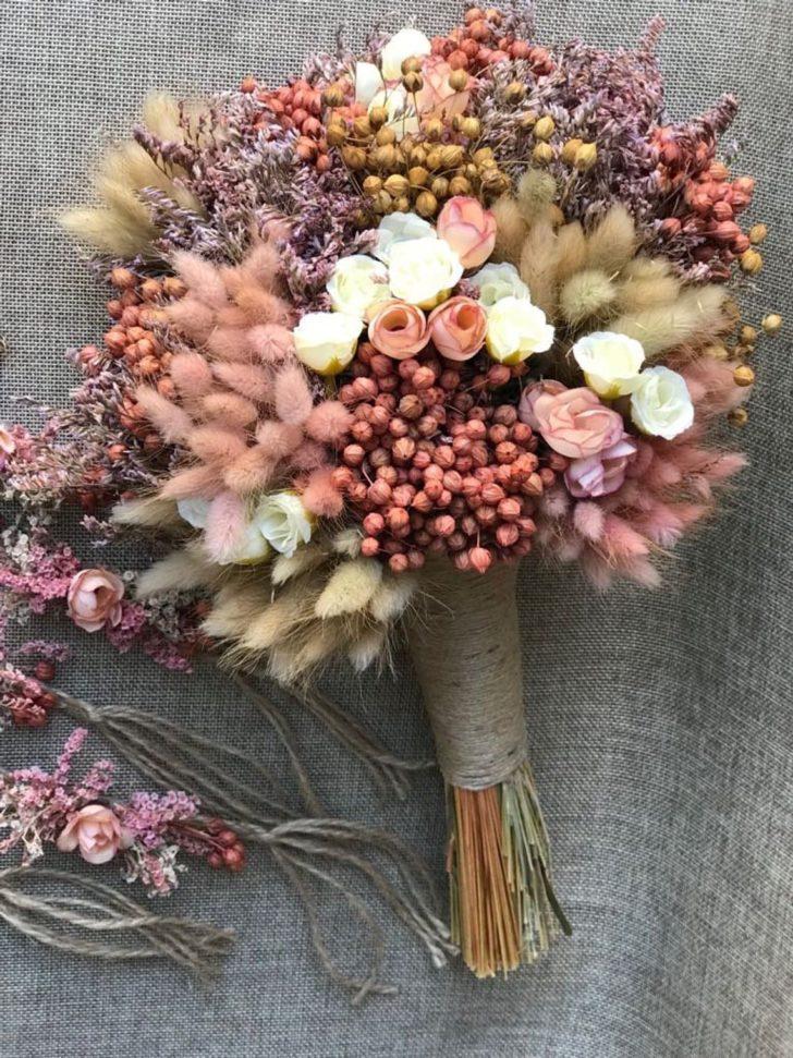 full flowers - dried wedding flowers