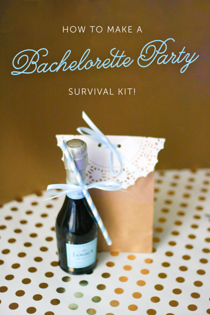 bachelorette party survival kit