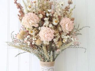 Sola flower wildflower dried flower bouquet