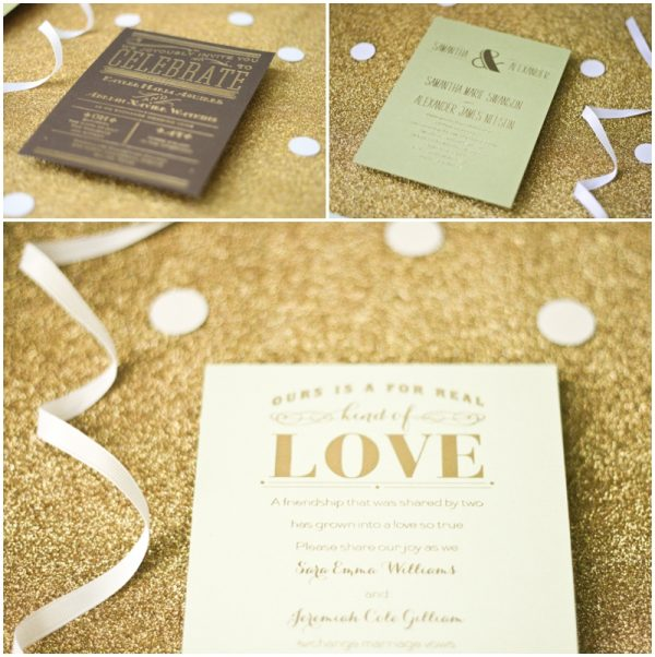 Foil wedding invitations on a budget the budget savvy bride invitations by dawn0001 solutioingenieria Gallery
