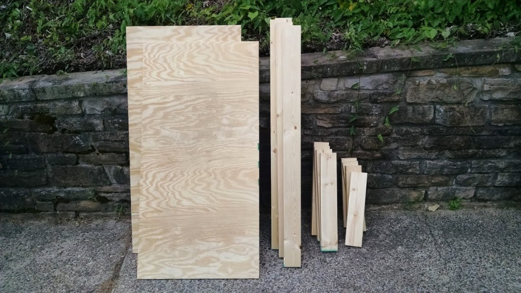 2x4s cut to length