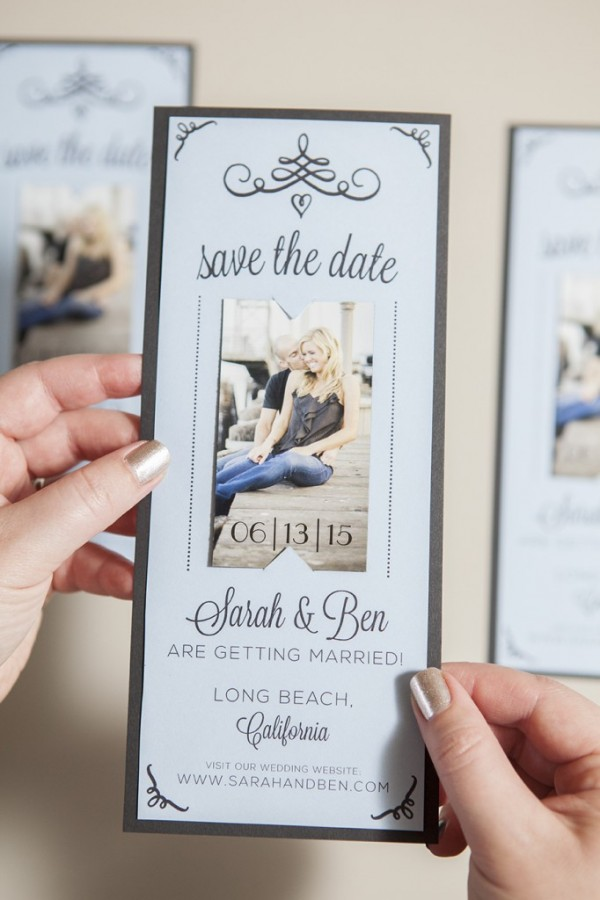 Magnet Save The Date Free Printable Tutorial - Save the date magnet templates