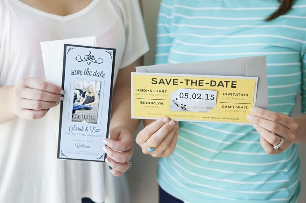 Magnet Save the Date - 2 options!