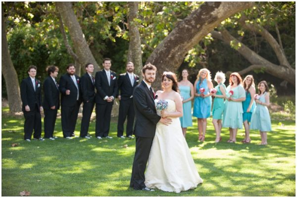 adorable red and aqua wedding_0016