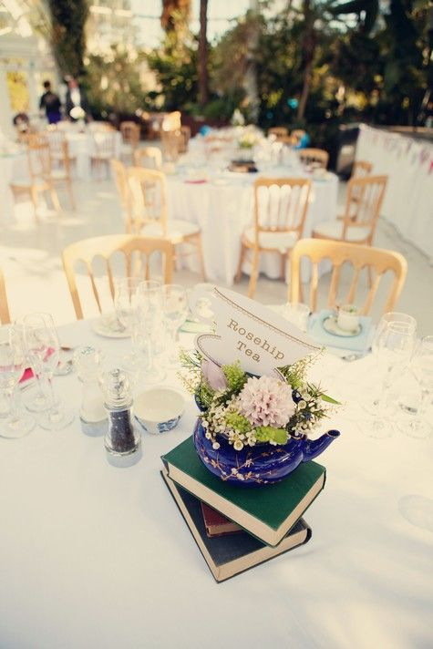 circle table decor