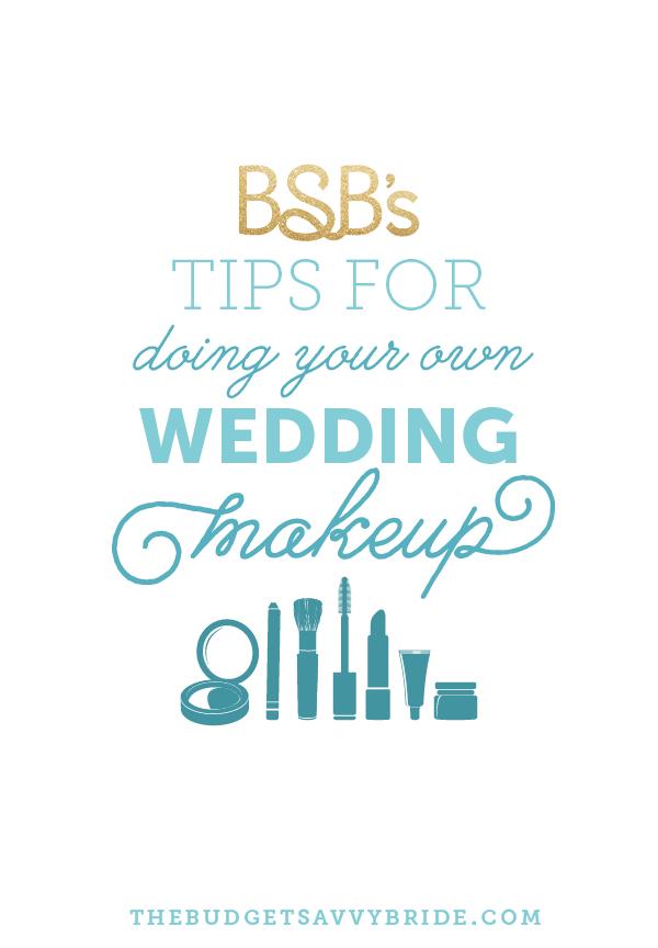 doing your own wedding makeup