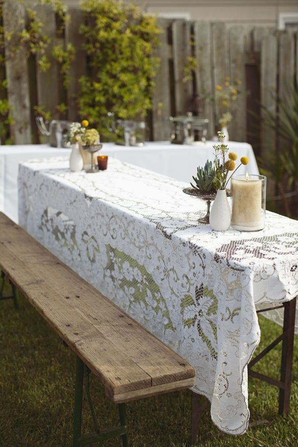 rectangle table decor