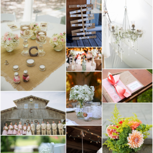 rustic chic wedding inspiration