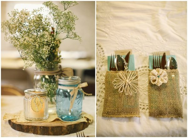 rustic wedding decor - Wedding Decorations On A Budget
