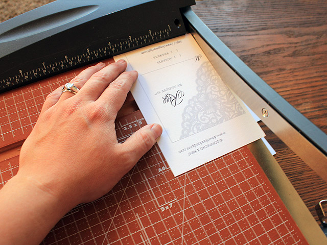 printable elegant wedding invitation with lace