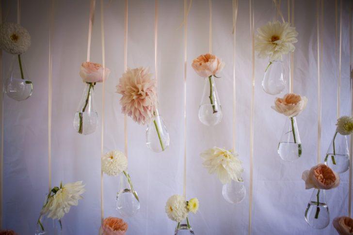 Erganic Wedding Flowers as Wedding Favors