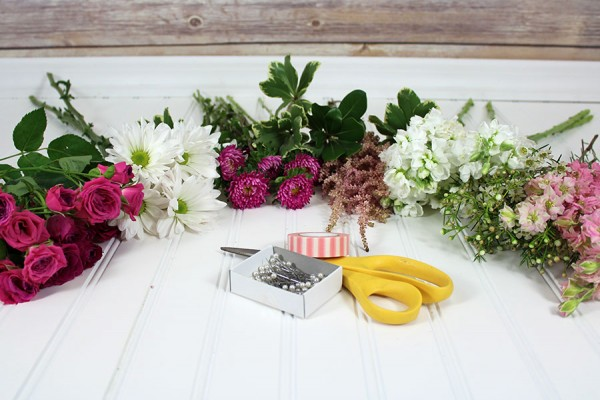 DIY Wildflower Bouquet Tutorial