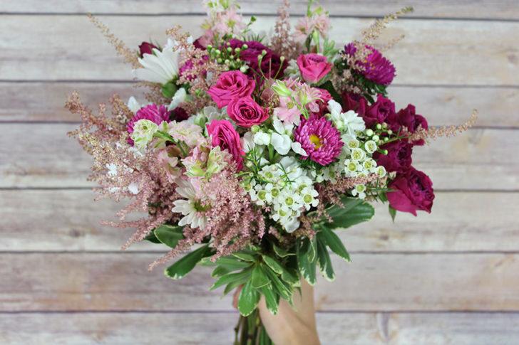 wildflower wedding bouquet tutorial