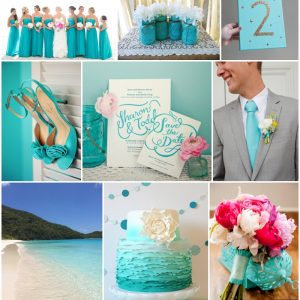 destination wedding inspiration turquoise