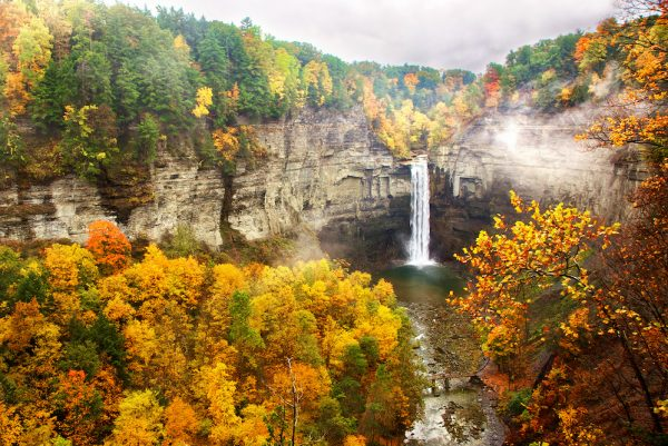 Ithaca in the fall (Credit: