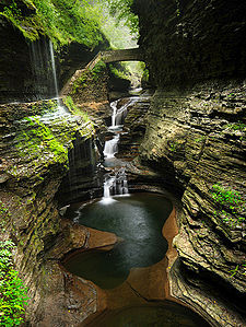 We get to go here! (http://en.wikipedia.org/wiki/Watkins_Glen_State_Park)