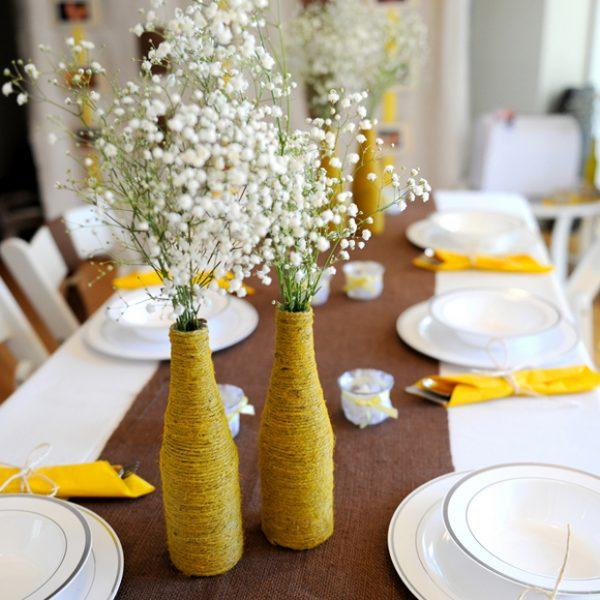 Flower Centerpiece Alternatives : Wedding flower alternatives the budget savvy bride