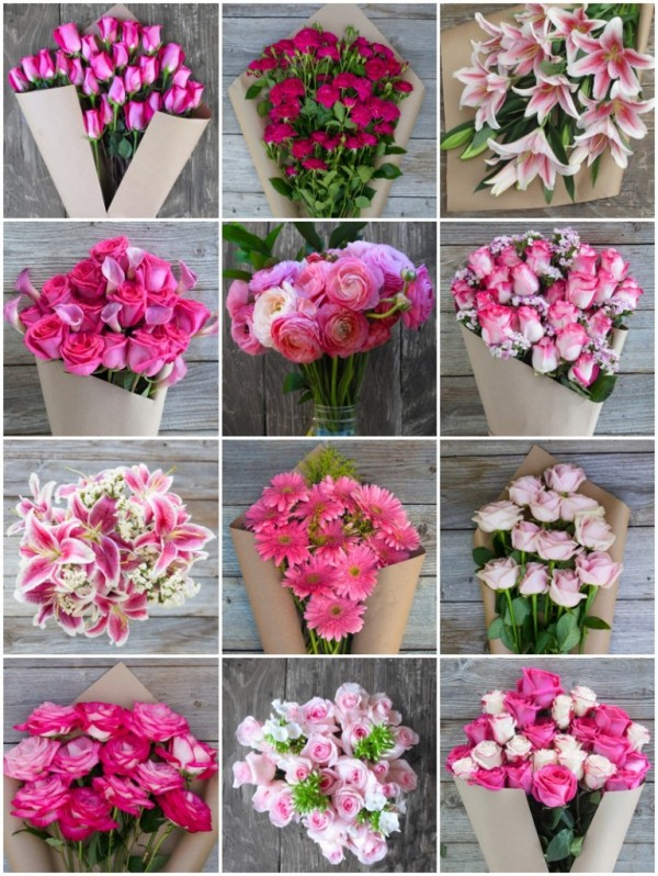 bouqs breast cancer awareness flowers