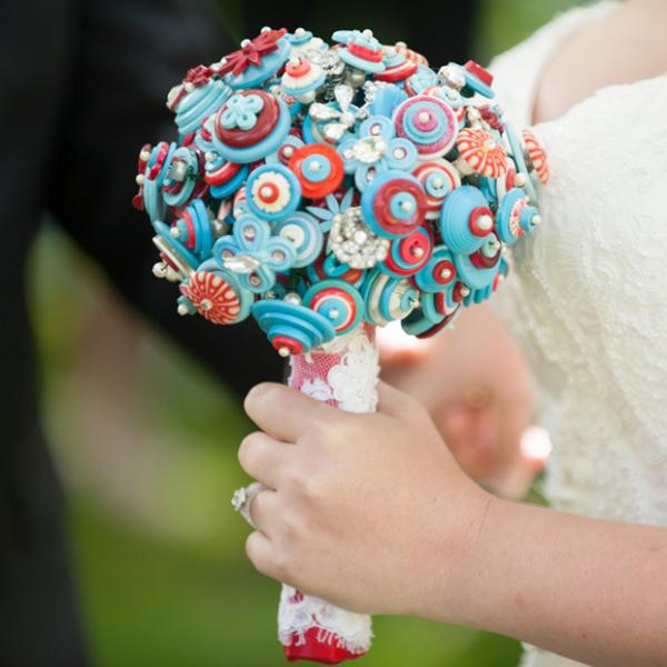 button bouquet - The Big Affair
